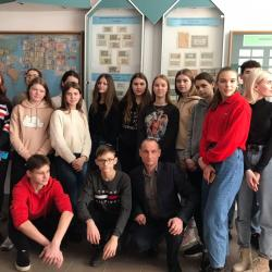 Екскурсія для учасників військово-патріотичного гуртка Тернопільського НВК.